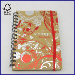 craft card spiral copybook