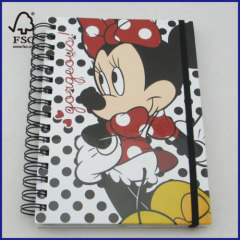 Disney brand spiral notebook