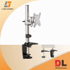 Aluminum and steel LCD arm standard vesa desk mount