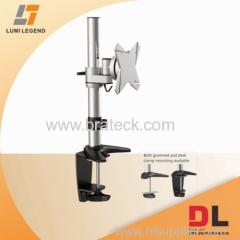 Aluminum and steel LCD arm standard vesa desk mounts
