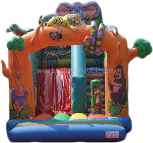 Fantastic Inflatable Animal Slide