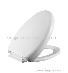 Square Family Toilet Seat Cover with soft close hinges TD 344