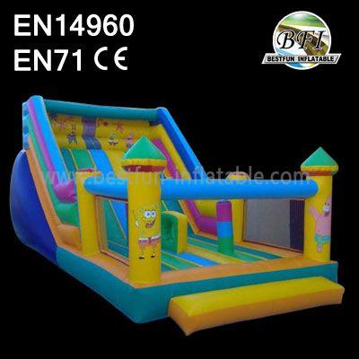 Spongebob Bounce House And Slide