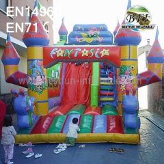 Inflatable Slides Birthday Party