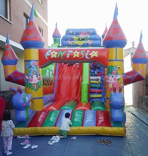 Holidays Inflatable Slides Castle Combos