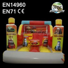 Inflatable Car Bounce Slides For Sale