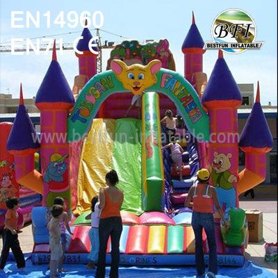 Fantasia Inflatable Bounce Slides