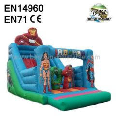Super Heros Big Top Inflatables