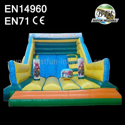 Classical Commerical Grade Wet/Dry Inflatable Slide