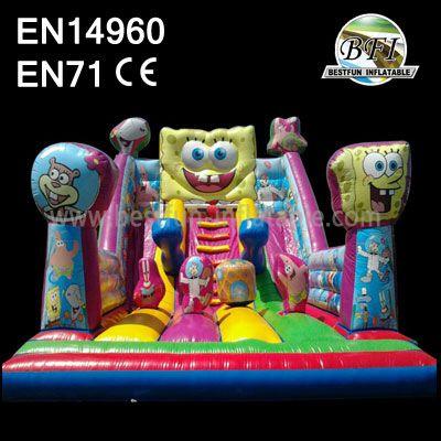Inflatable Spongebob Bouncy Slide