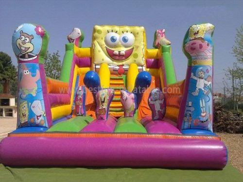 High Quality Spongebob Inflatable Backyard Water Slides