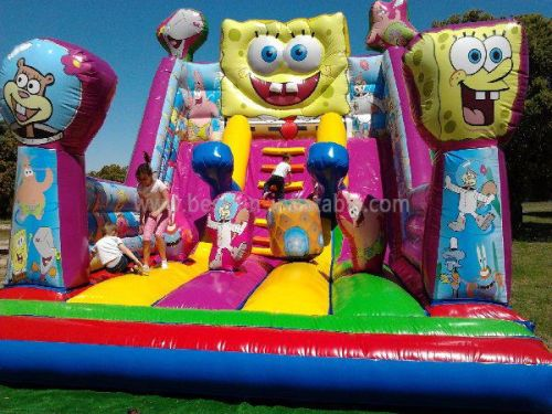 High Quality Spongebob Inflatable Backyard Water Slides