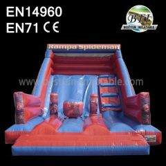Spiderman Inflatable Bouncy Slides
