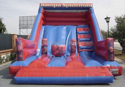 Fun Inflatable Slide Spiderman Bounce Slide