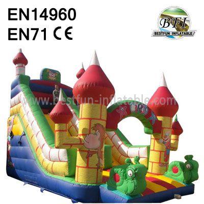 Inflatable Circo Jumper Slide