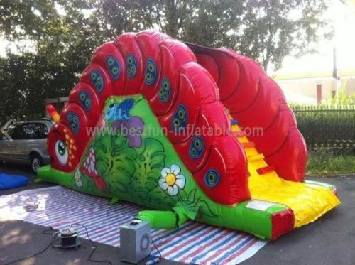 Inflatable Real Load Single Lane Toddler slide