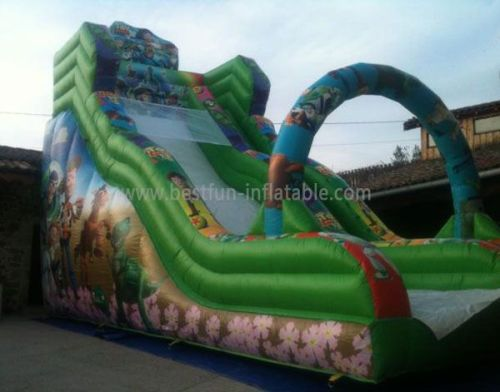 Commercial BigFull Print Inflatable Slide
