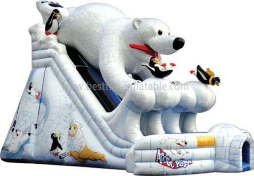 Commerical Bear Inflatable Slide