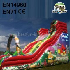 Inflatable Angry Bird Slide