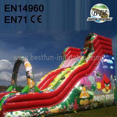 Inflatable Angry Bird Slide