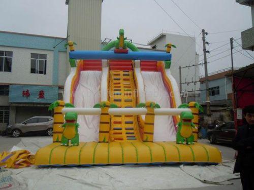 Plam Tree Adult Inflatable Slide