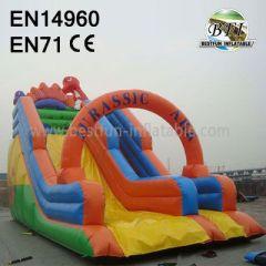 Inflatable Jurassic Park Slide