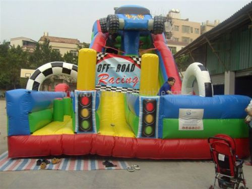 Giant Inflatable Off Road Slide