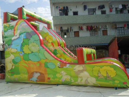 China Inflatable Bouncy Slides For Sale