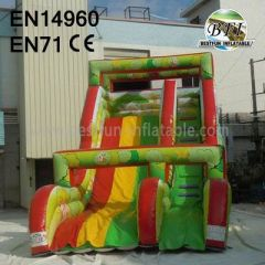 China Inflatable Jungle Slides