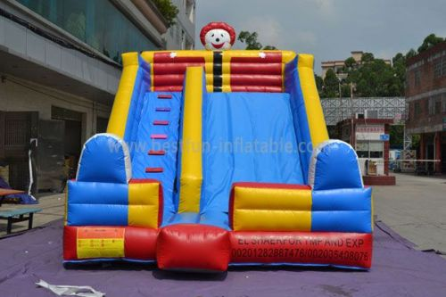 Inflatable Clown Beach Slide Toy