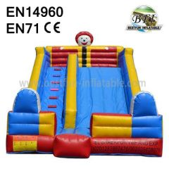 Small Clown Inflatable Toy Slide