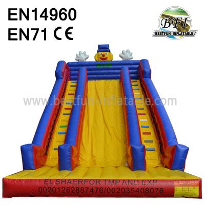 Big Inflatable Clown Slide