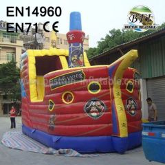 Inflatable Pirate Slide For Playground