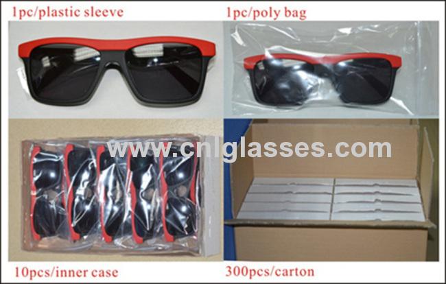 Hand made acetate rectangular elegant sunglasses for men