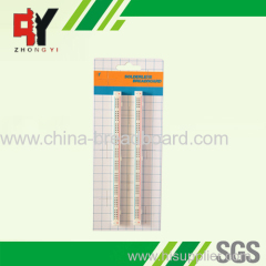 2 strips distribution breadboard ZY-200