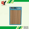 1680 points brown solderless breadboard with blue plate