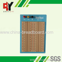 1680 points brown solderless breadboard with blue plate SD-24