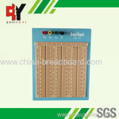 2420 points brown breadboard with blue plate SD-35