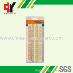 840 points yellow breadboard slide type ZY-128