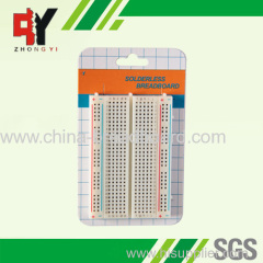 400 points popular medium breadboard ZY-60