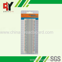 830 points popular type breadboard ZY-102