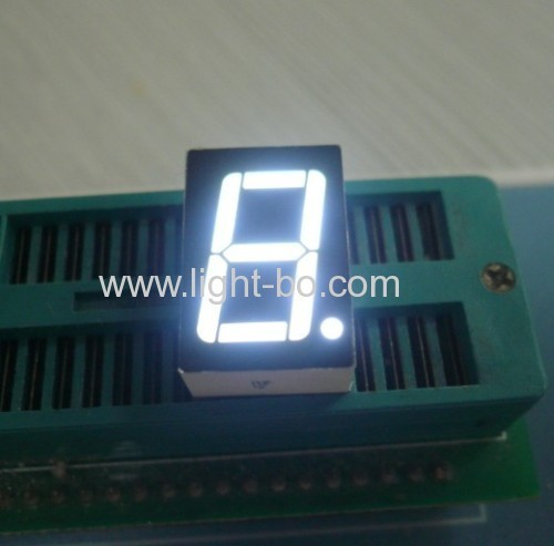 Ultra bright red Single digit 0.56 inch common anode 7 segment led display
