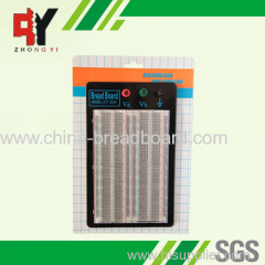 1660 points transparent breadboard with metal plate ZYJ-204