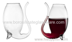 High Transparent Creative 300ml Vampire Red Wine Glass