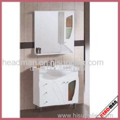 Solid Wood single basin Bathroom Cabinet