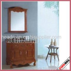 European Style Bathroom Vanity and Mirror Cabinet