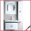 Fsc MDF Bathroom Cabinet with PVC Cover