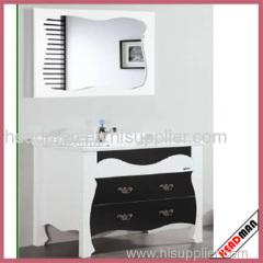 High Gloss White MDF Bathroom Cabinet