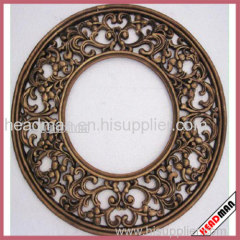 Antique Gold Decorative Wooden Framed Wall Mirror
