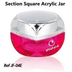 sample jars for cosmetics